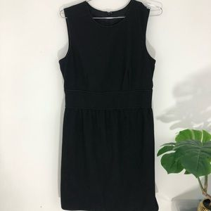 Banana republic black cocktail dress